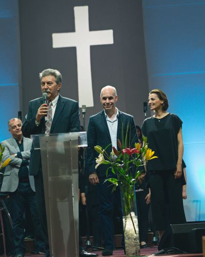 El Jefe de Gobierno porteño asistió al Tedeum Evangélico