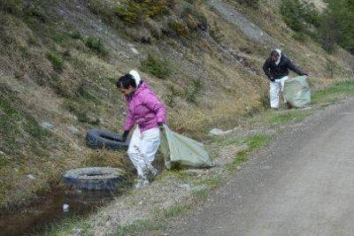 La Agrupación Basura Cero alcanzó el objetivo trazado de lograr la ruta más limpia del país