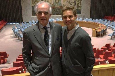 Sciurano se reunió con el Representante Permanente de la Argentina ante las Naciones Unidas