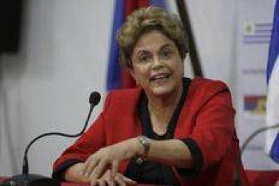 Dilma, muy alarmada por Brasil