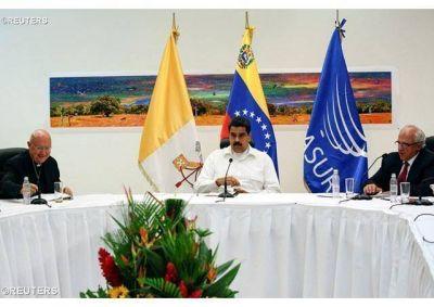 Nota Eclesial: la mesa de diálogo en Venezuela