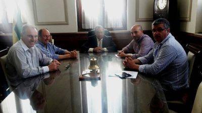 Sánchez recibió a funcionario de aviación nacional