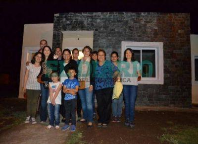 Viviendas: 120 familias del Valle del Conlara cumplieron su sueño