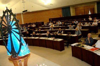 Casi un centenar de obispos participan de la 112ª Asamblea Plenaria del Episcopado