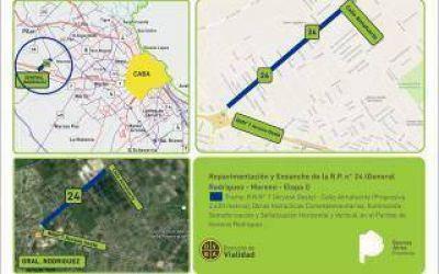 Provincia licitó obras para repavimentar las rutas provinciales 8, 29 y 24