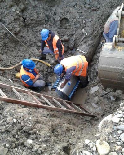 Rotura de un acueducto complica el servicio de agua potable