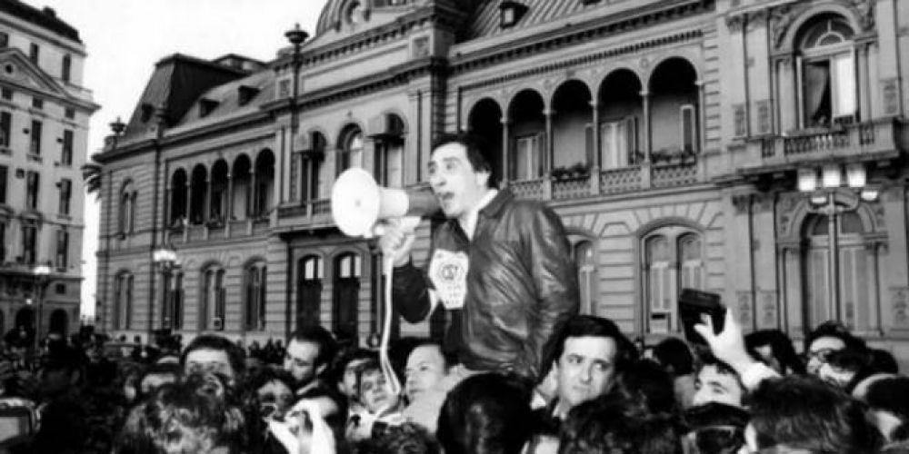 Hace 35 años la CGT realizaba su primera movilización en contra de la dictadura