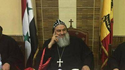 Alepo; el vicario siro-ortodoxo: bebo el cáliz amargo de la cruz