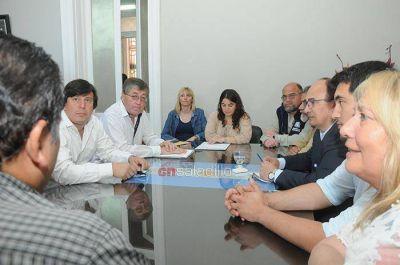 Representantes de UPCN se reunieron con el Intendente Salomón