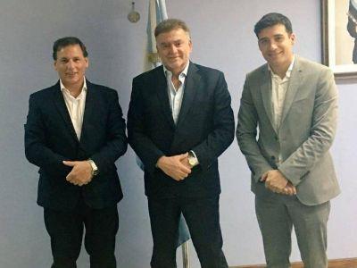 Ponce y Alejandro Cacace se reunieron con el secretario de Vivienda de la Nación