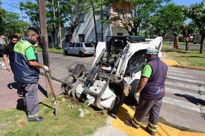 San Fernando realizó un operativo de limpieza y prevención del dengue en Virreyes