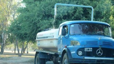 Vecinos de la zona Oeste llevan una semana sin agua