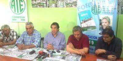 ATE Formosa se suma al paro nacional de CTA convocado para este jueves