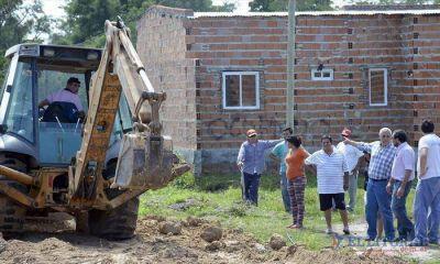 Santa Catalina: avanza la construcción de casas