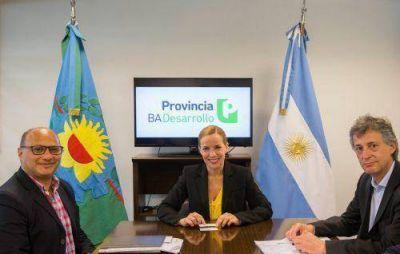 Reino firmó contrato para instalar luminarias LED en Balcarce