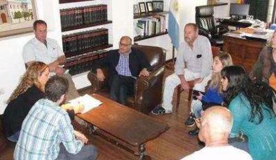 El intendente recibió a coordinadora del Ministerio de Desarrollo Social