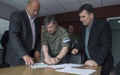 Instalarán destacamento de Gendarmería en Azul