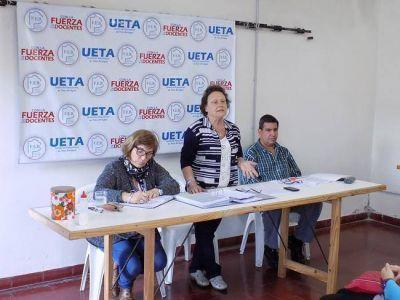 Tras asamblea, docentes de UETA adhieren al paro nacional