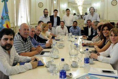 El peronismo unido de cara al presupuesto bonaerense 2017