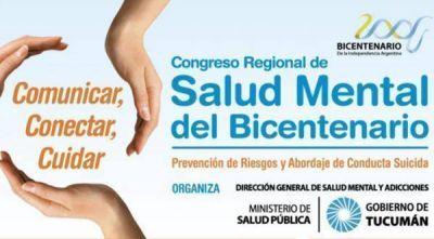 Este jueves comienza en Tucumán el Congreso de Salud Mental del Bicentenario