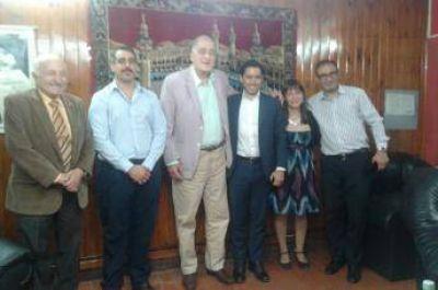 Subsecretario de Cultos de la Nación visitó la Asociación Árabe Argentina Islámica