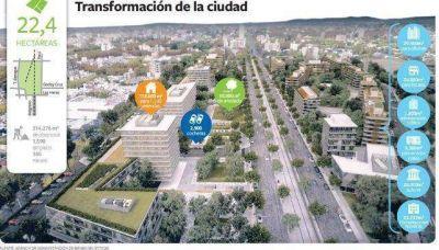 Macri cede a Mendoza Capital tierras del ferrocarril para un polo urbano