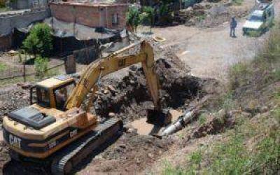 Ejecutan importantes obras para optimizar el abastecimiento de agua en Jujuy