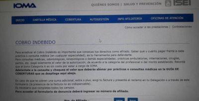IOMA: Cómo denunciar el cobro de plus o adicionales de médicos o prestaciones