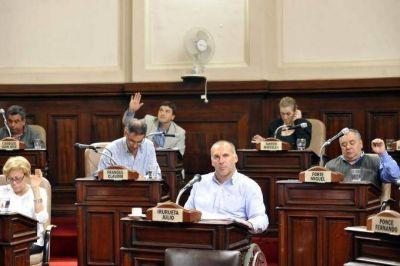 El repudio a Esteche generó polémica en el Concejo Deliberante platense