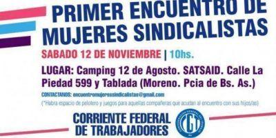 La Corriente Federal prepara su primer encuentro de mujeres sindicalistas
