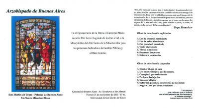 El cardenal Poli celebra hoy misa por la gestión publica