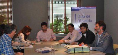 Galli anunció la reactivación de las obras del barrio Pikelado