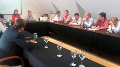 Varisco acordó con funcionarios nacionales mejoras para la capital entrerriana