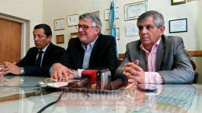 Britos recibió al Ministro de Trabajo de la Provincia Marcelo Villegas