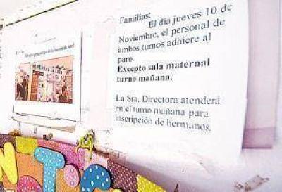 Docentes bonaerenses confían en forzar el diálogo con Vidal