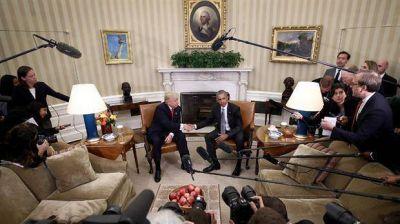 Obama y Trump inician una incómoda transición