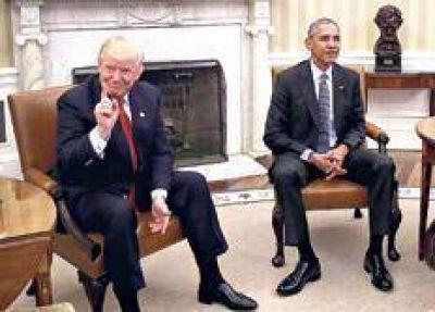 Trump se probó el traje de presidente de EE.UU.