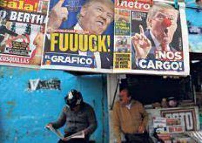 México cayó en la pesadumbre por culpa de Trump