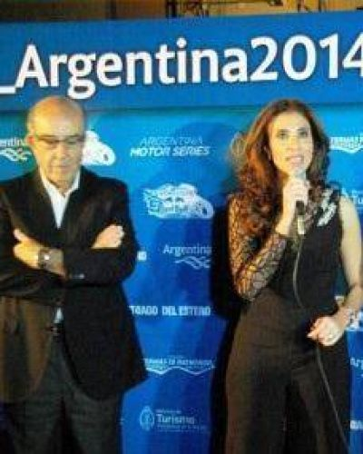 La Gobernadora recibirá en España una distinción al Autódromo de Termas