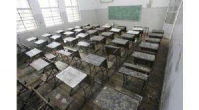 Fuerte acatamiento al paro docente: 98%