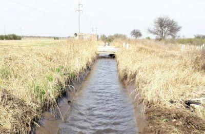 Tareas de mejora en las vías de conducción de agua cruda