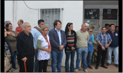 El Intendente recordó a los empleados municipales fallecidos