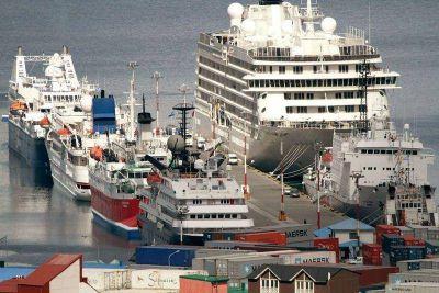 La ampliación del Puerto de Ushuaia es una realidad