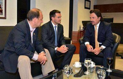 El ministro Rodríguez y el intendente Sáenz hablaron sobre obras para la ciudad