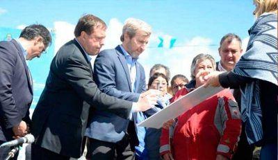 Frigerio vuelve a Bariloche por el saneamiento del Nahuel Huapi