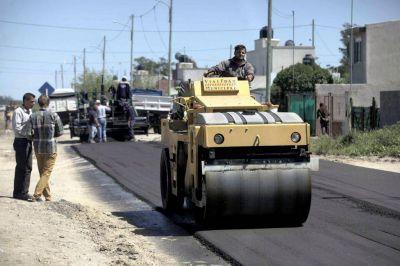 Continúan los trabajos del Plan Hábitat en el barrio Belisario Roldán