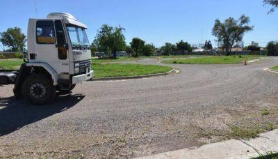Nueva promesa para finalizar la demorada pista vial municipal