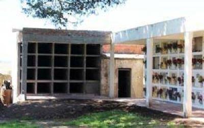 Obras para mejorar el Cementerio de San Manuel