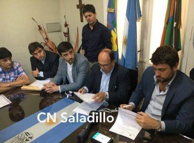 El Municipio firmó dos convenios con la Nación por 1,5 millones de pesos