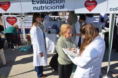 La campaña Corazón Saludable continúa en el bajo Boulogne